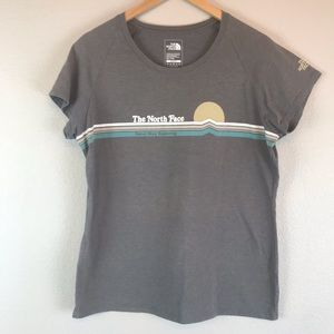 The North Face Never Stop Exploring Tee Gray XL
